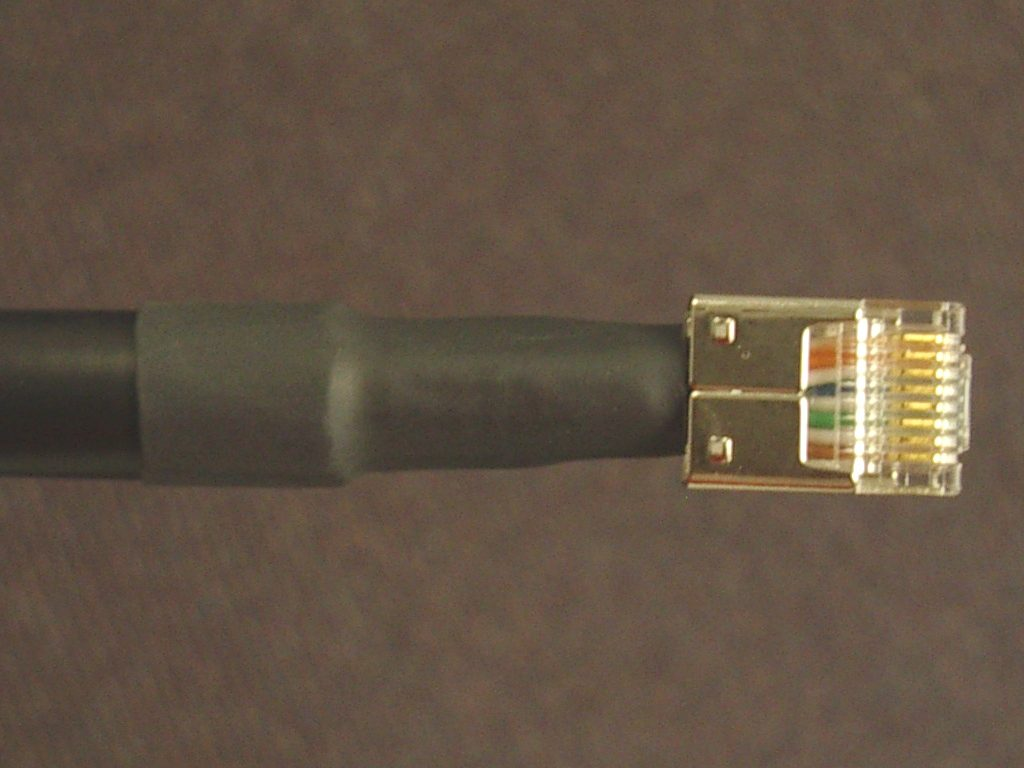 Terminating Outdoor Cat5 How To Terminate Dremeled Crimped Clamped Done